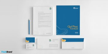 Qui Phuc Furniture Logo Designing